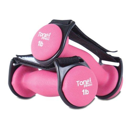 Tone Fitness 1-Pound Pair Walking Dumbbells