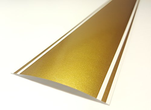 ORACAL 6'x72' Vinyl Racing Stripe Decal 651 by A1A Sales (3M Metallic Gold - PMS 871C)