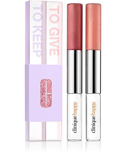 Clinique Pop Splash Lip Gloss Hydration & Happy Perfume Set