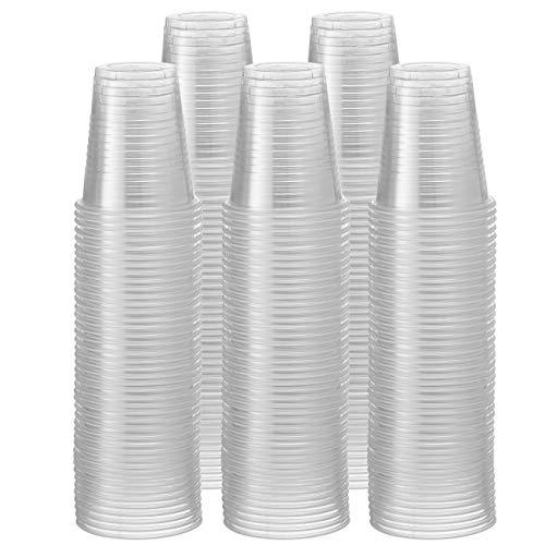 Comfy Package [Pack de 500-150 ml - 5 oz] - Vasos Desechables de plástico Transparente - para Fiestas