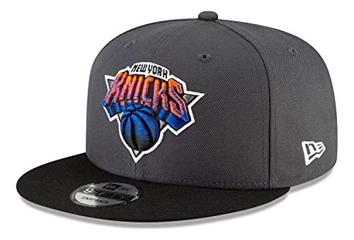 New Era Herren Snapback Caps NBA20 New York Knicks City Alt EM 9Fifty grau M/L