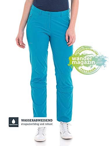 Schöffel Damen Pants Engadin1 Bequeme und elastische Zip-Off Funktion, kühlende und schnell trocknende Outdoor Hose für Frauen, caneel bay, 2XL/48