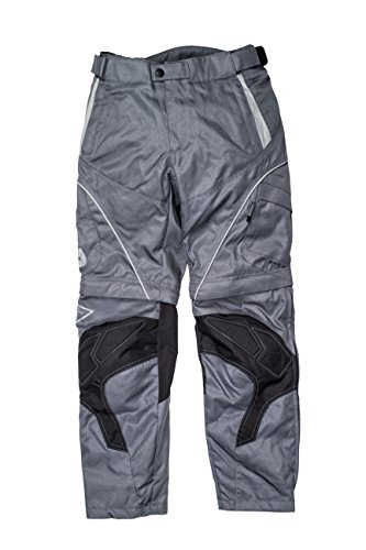 Racer Pantaloni Zip-Off di Tessuto, Grigio, S