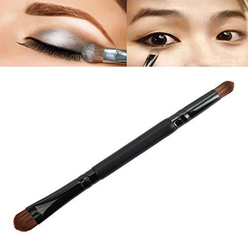 MEIYY Pinceau de maquillage 1Pcs Eye Shadow Makeup Brushes Double Head Short-Handled Brush Eye Shadow Powder Contour Make Up Brush