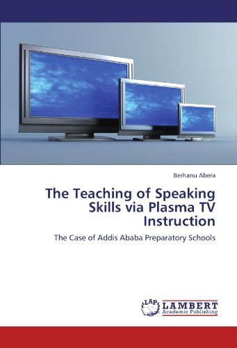 The Teaching of Speaking Skills Via Plasma TV Instruction
