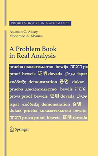 A Problem Book in Real Analysis (Problem Books in Mathematics)