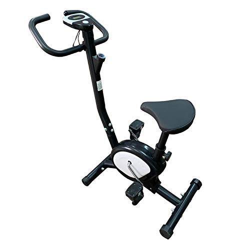 Indoor Cycling Bike, Hometrainer Fiets Fitnessapparatuur Stationair Ultrastille Fiets Gezondheid Beauty Home Gym (Zwart)