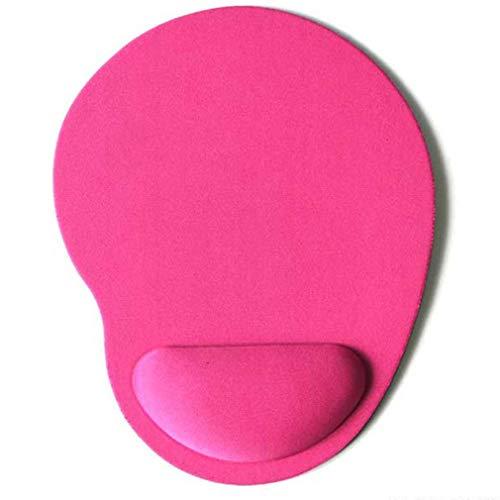 Deliu Eva Foam 3D Mauspad Handgelenkauflage Mousepad Wristbands Pad Mousepads Für Gamer Pink