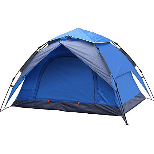 WGYDREAM Camping Tent Outdoor Equipment Waterproof Shoshone Unisex Outdoor Teepee Tent Available In - 2 Persons (Color : Blue)