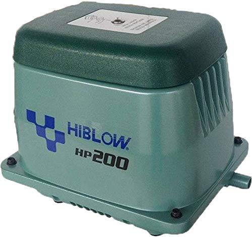 HiBlow Luftpumpe HP-200 230l/min bei 1,3m, Ausgang 18mm, 210 Watt