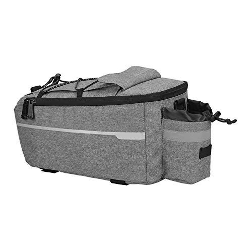 Fahrradtasche, isoliert, Kofferraum-Kühlerpackung, Fahrrad-Gepäckträger, Aufbewahrung, reflektierend, grau, für Mountainbike, Klapprad