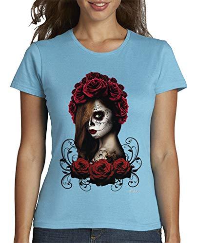 tostadora - Frauen - T-Shirt Catrina Himmelblau M