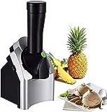 Máquina para hacer helados de comida suave de frutas Máquina para hacer helados caseros portátiles para hacer deliciosos sorbetes de helado y yogurt congelado