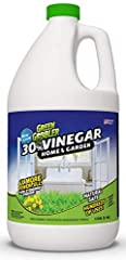 THE ALL-NATURAL ALTERNATIVE — Derived naturally from corn grown in the USA. Use all-natural vinegar for cleaning, deodorizing, gardening, laundry, chrome polishing, grease removal, etc. AMAZINGLY MULTI-PURPOSE — Use vinegar in your home and garden. C...