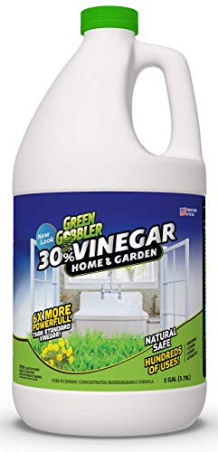 Our #1 Pick is the Green Gobbler Pure Vinegar