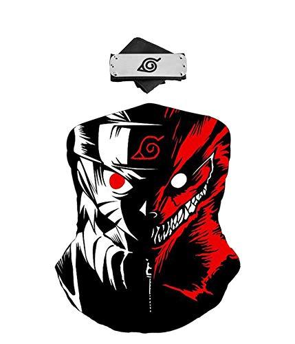 ZeroGoo Anime Ninja Konoha Kakashi Face Mask Bandana Balaclava with...
