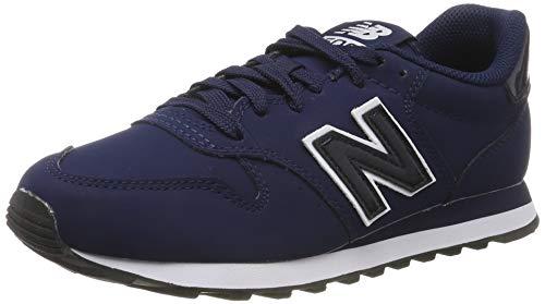 New Balance Damen 500 Sneaker, Blau Navy White Navy White, 36 EU