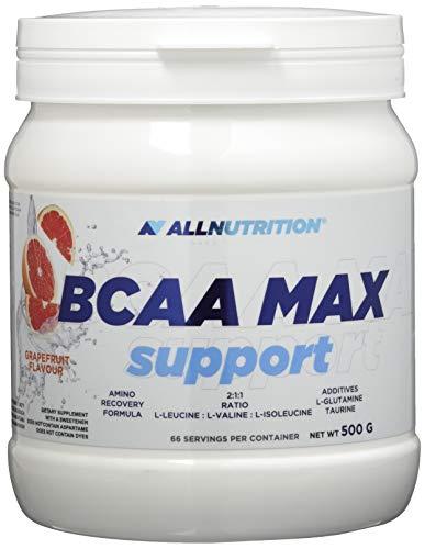 All Nutrition BCCA Max Soporte Proteína Carbohidratos Complejo Entrenamiento Musculturismo Polvo, Pomelo 500 g