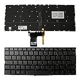 Keyboards4Laptops Francese Retroilluminato Grigio Windows 8 Tastiera Sostitutiva per Portatili Compatibile con Lenovo IdeaPad 320S-13IKB