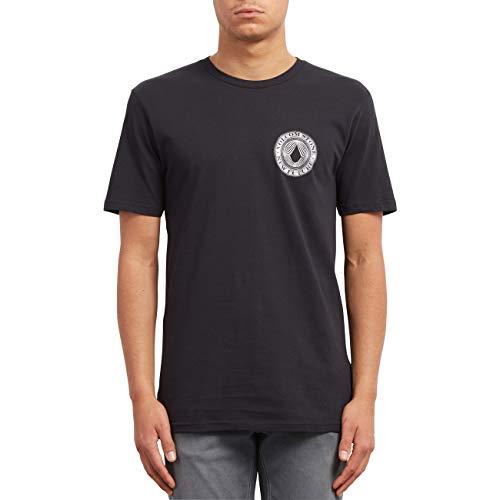 Volcom Camiseta Volcomsphere BSC SS Negro Talla: S (Small)