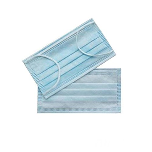 50pcs Medical Dental Earloop Disposable Face Mask Respirator