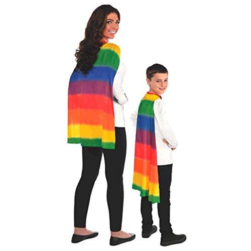 Amscan International 395888 Regenboog-omhang, unisex, eenheidsmaat