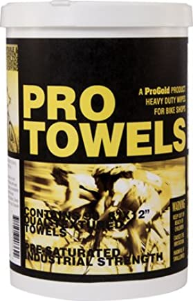 ProGold PRO Towels Heavy Duty Bicycle Cleaning Wipes - 90 Towels - 780190PP