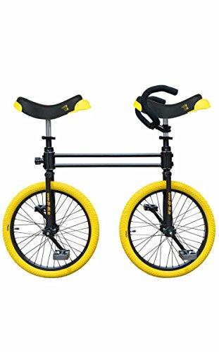 QU-AX Bicicleta Bi-payaso - Dos monociclos conectados