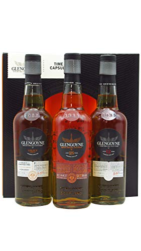 Glengoyne - Time Capsule - 3 x 20cl - 12, Legacy Series 2 & 18 Year Old - Whisky ⭐