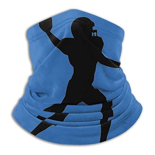 American Football-Spieler Nackenschutz Shield Schal Bandana Sturmhaube Winddichte Gesichtsbedeckung für Sport im Freien