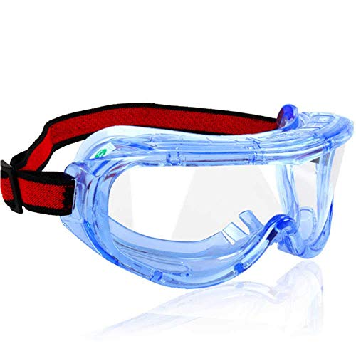 Find Bargain Splash-Proof Safety Glasses, Clear Liquid and Dust Protection Goggles, Windproof Anti-S...