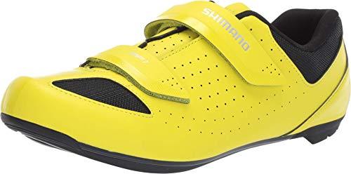 SHIMANO SH-RP1 Cycling Shoe, Neon Yellow, M 8-8.5 / W...