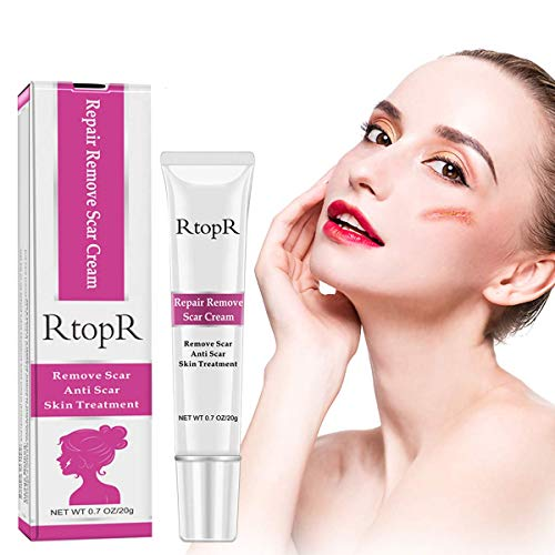 Scar Removal Cream, Effective for Both Old and New Scars, Acne, Surgery, Burns, Cuts, and Other Injuries Repair, Enhance New Skin Growth-20ml
