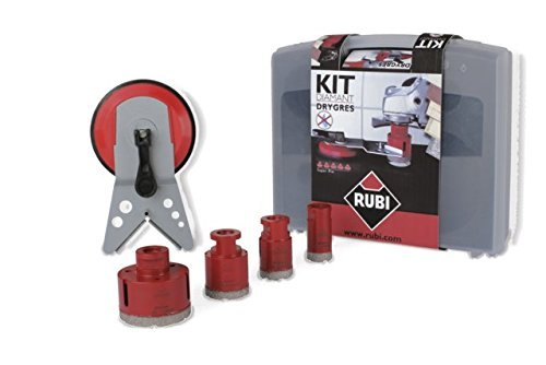 Rubi 50936 Kit 5 brocas DRYGRES, Gris
