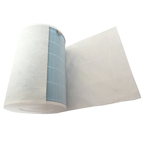YanBan 10 Piezas de Repuesto HEPA® Antibacteriano algodón Antipolvo para purificador de Aire Xiaomi 2/1 / Filtro de Aire Acondicionado Universal algodón