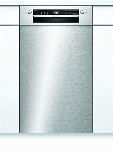 Bosch SPU2HKS41E Serie 2 Unterbau-Geschirrspüler / A+ / 45 cm / Edelstahl / 220 kWh/Jahr / 9 MGD / Silence / Extra Trocknen / VarioBesteckkorb / Home Connect