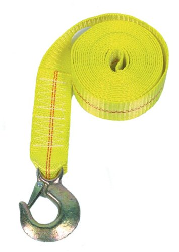 Rod Saver Heavy Duty Replacement Winch Strap (25 Feet, Yellow)