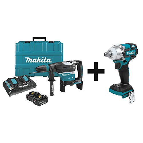 Best Price Makita XRH07PTU 18V X2 LXT Lithium-Ion (36V) Brushless Cordless 1-9/16 Advanced AVT Rota...