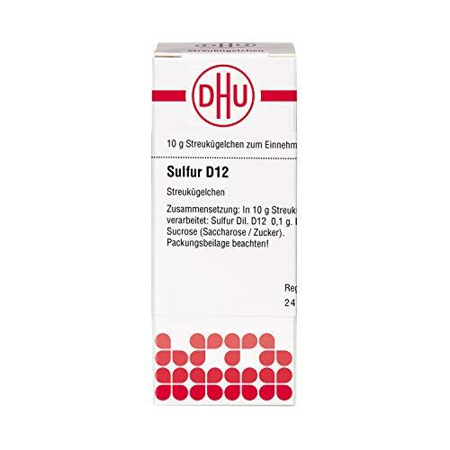 DHU Sulfur D12 Streukügelchen, 10 g Globuli