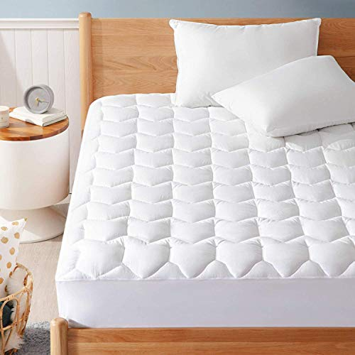 Bedsure Thick Mattress Pad Twin - Upgraded Breathable...