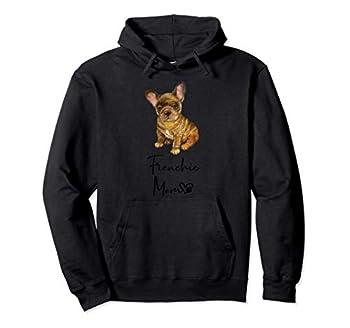 Cadeau mignon maman Bouledogue Français chien FRENCHIE MOM Sweat à Capuche