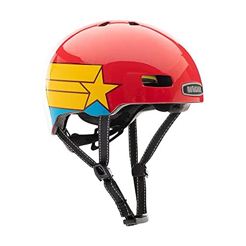 Nutcase Little Nutty-Supa Dupa Unisex-Helm, Mehrfarbig, S