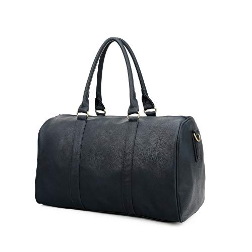Duffle Bag Travel Overnight Weekend Gym Sports Cabin Sized Holdall Satchel Totes Bag Handbags (Navy)