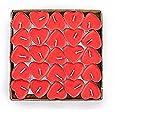 Grande Quantità – Questo prodotto, venduto in confezione da 50, ti dà l'opportunità di avere una grande scorta. Atmosfera – Queste candele assicurano la romantica atmosfera ideale, che sia un anniversario, un appuntamento, una cena o delle ricorrenze...