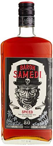 Baron Samedi Spiced Rum/hergestellt mit Rum aus Jamaica, Karibik/mit Vetiver-Gras – einem Süßgras aus Haiti Spiced (3 x 0.7 l)
