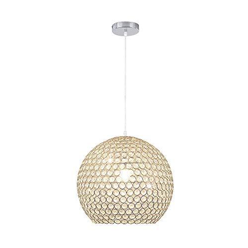 Moderner Leuchter Mit Justierbarem Kronleuchter - Pendelleuchte Beleuchtung Glas Ø40cm E27 (nicht Birne Einschließen)