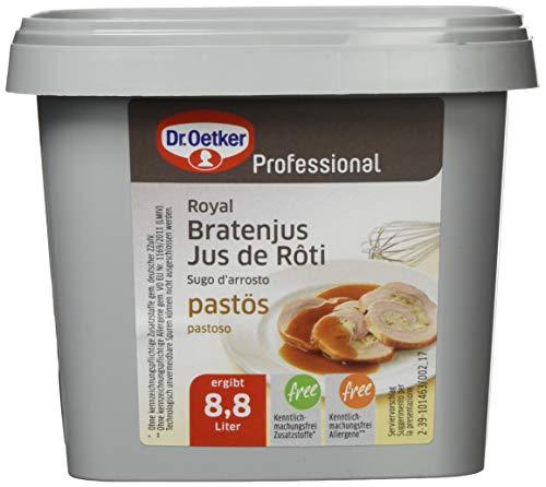 Dr. Oetker Professional, Bratenjus, Royal, paströs, Paste in 850 g Dose, wiederverschließbar, 1-39-205975