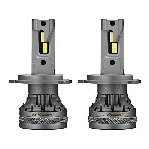 KESOTO 22000LM Kit de faros delanteros LED para coche reemplazar el montaje 60W luces delanteras blancas de haz bajo bombillas Led - H4