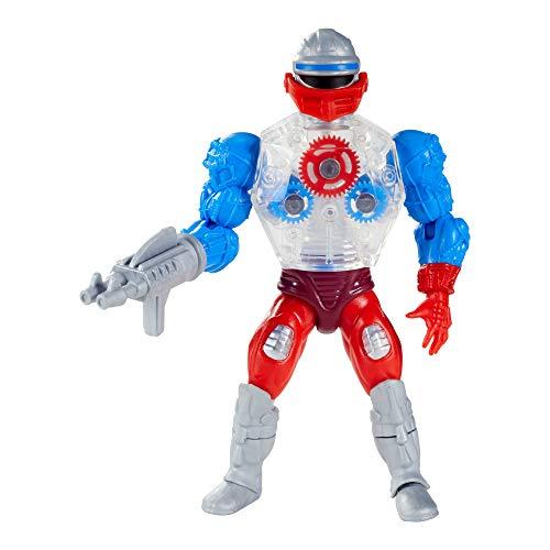 Masters of the Universe-Origins, Personaggio Articolato Roboto con Accessori,Giocattolo per Bambini 6+Anni,GRX00
