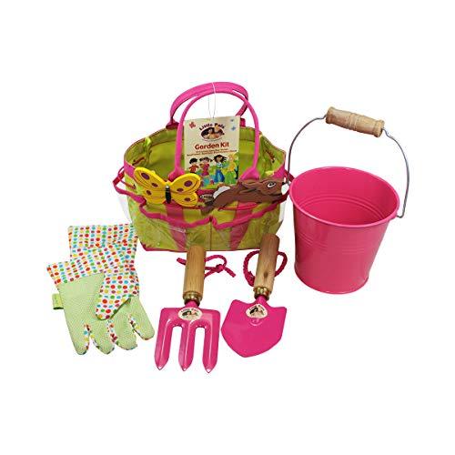 Little Pals 7-LP380 Children's Gardening Kit - Pink